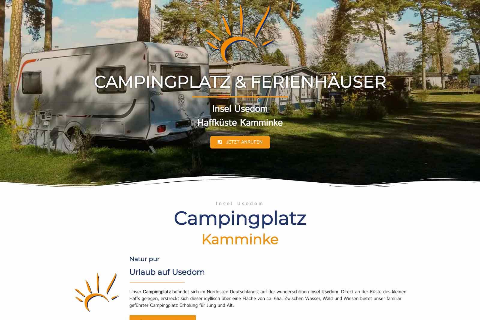 Zeltplatz Kamminke